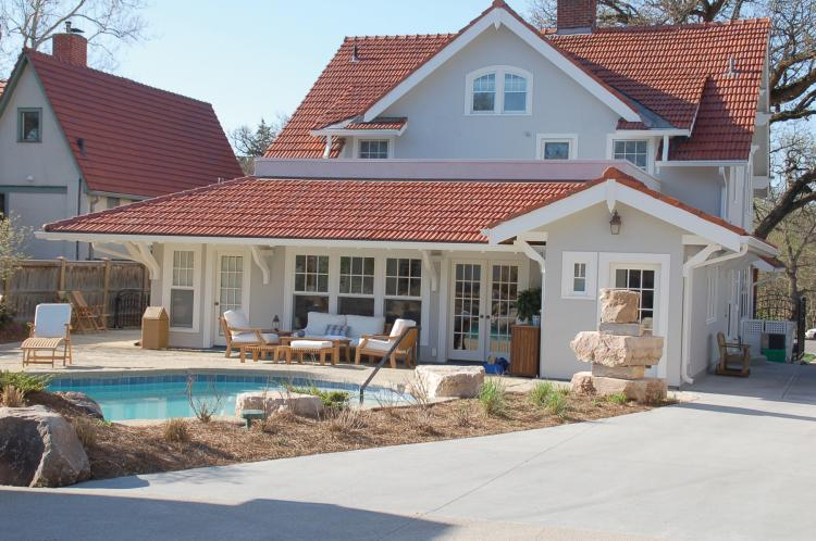 Additions for Pool house additions