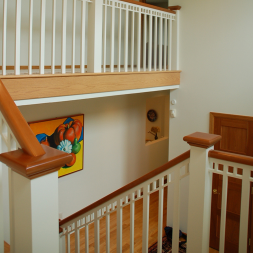 Staircase Railing Replacement | croselemke.com